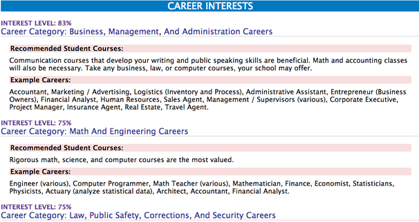 Good Career Assessments Regarding Career Test Free